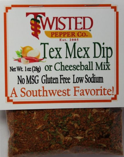 Picture of Twisted Pepper Dip Mix