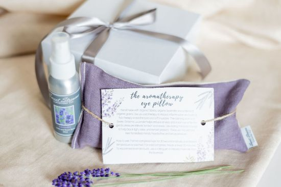 Picture of Sweet Streams Lavender Co Aromatherapy Eye Pillow and Linen Spray