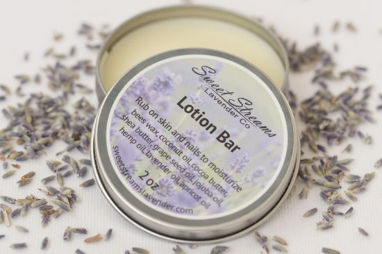 Picture of Sweet Streams Lavender  Lavender Lotion Bar